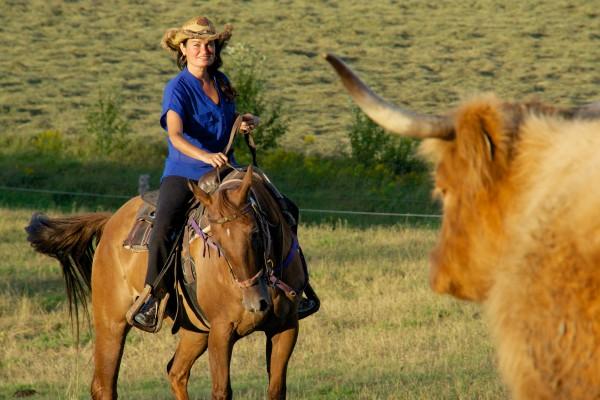 Baluchon cowboy