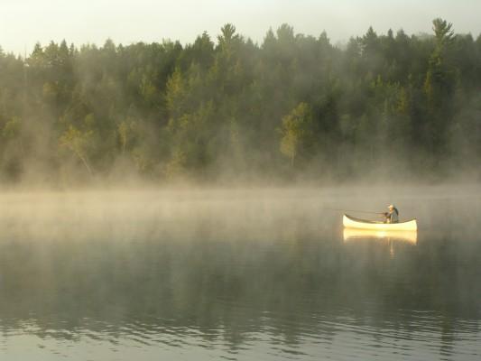 Lac Blanc canot peche MJulien