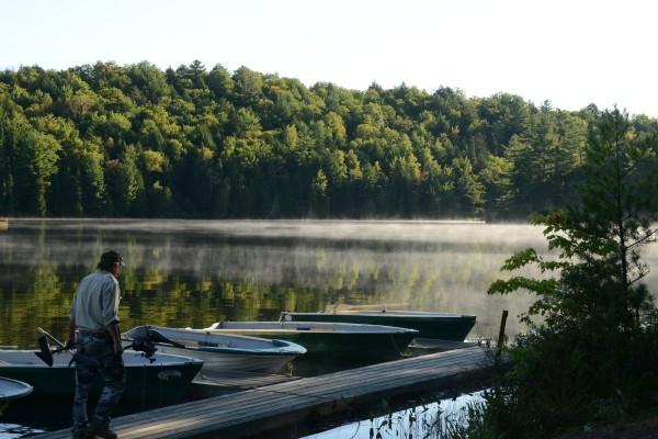 lac blanc chaloupes